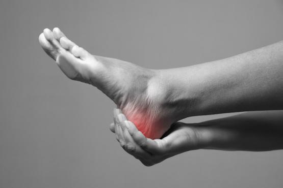 douleurs pied